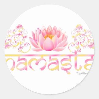 Loto de Namaste nuevo Pegatinas