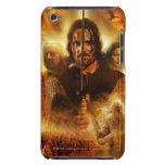 LOTR: Cartel de película de ROTK Aragorn iPod Case-Mate Cárcasa