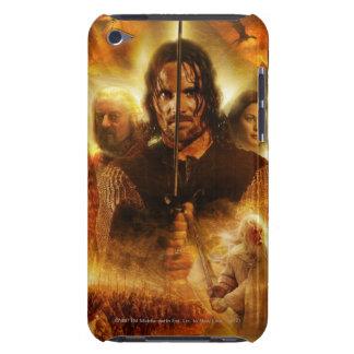LOTR: Cartel de película de ROTK Aragorn iPod Touch Case-Mate Carcasa