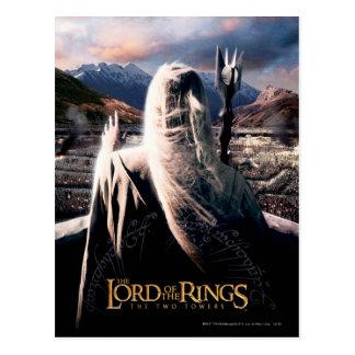 LOTR: Cartel de película del TT Saruman Postal