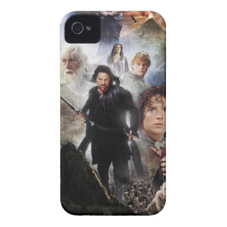 LOTR Character Collage iPhone 4 Case-Mate Case