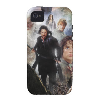 LOTR Character Collage Case-Mate iPhone 4 Cases