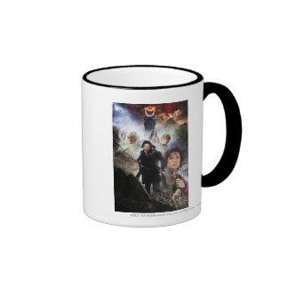LOTR Character Collage Coffee Mug