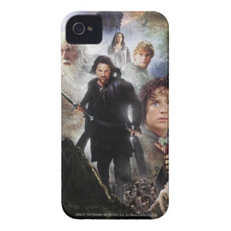 LOTR Character Collage iPhone 4 Case