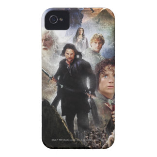 LOTR Character Collage iPhone 4 Cover
