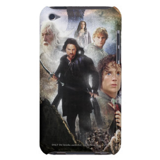 LOTR Character Collage iPod Case-Mate Case