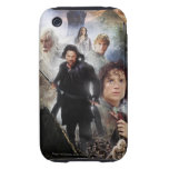 LOTR Character Collage Tough iPhone 3 Case