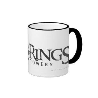 LOTR horizontal logo Ringer Mug
