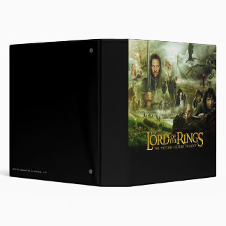 LOTR Movie Poster Art Binder