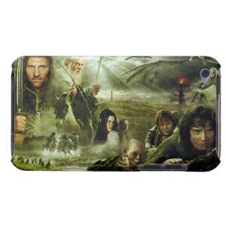 LOTR Movie Poster Art Barely There iPod Cases