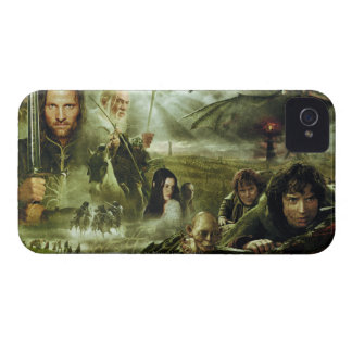LOTR Movie Poster Art iPhone 4 Case-Mate Cases