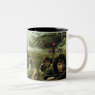 LOTR Movie Poster Art Coffee Mugs