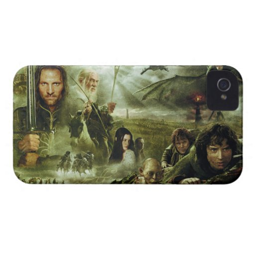 LOTR Movie Poster Art iPhone 4 Cases