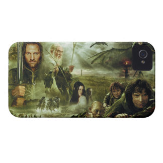 LOTR Movie Poster Art iPhone 4 Cover