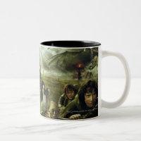 LOTR Movie Poster Art Two-Tone Coffee Mug