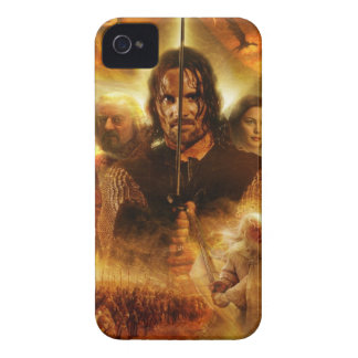LOTR ROTK Aragorn Movie Poster iPhone 4 Case-Mate Cases
