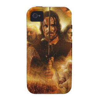 LOTR ROTK Aragorn Movie Poster Case For The iPhone 4