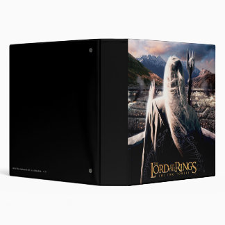 LOTR: TT Saruman Movie Poster Vinyl Binders