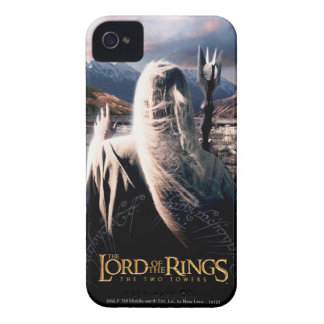 LOTR TT Saruman Movie Poster iPhone 4 Covers