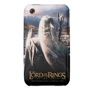 LOTR: TT Saruman Movie Poster iPhone 3 Case-Mate Case