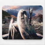 LOTR: TT Saruman Movie Poster Mouse Pad