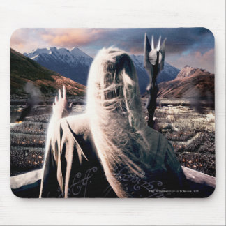 LOTR: TT Saruman Movie Poster Mouse Pad