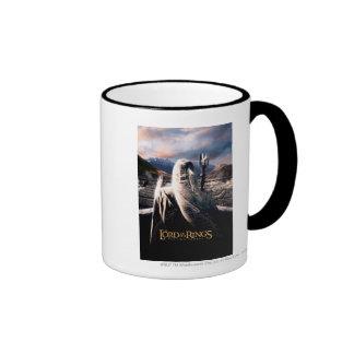 LOTR: TT Saruman Movie Poster Ringer Mug