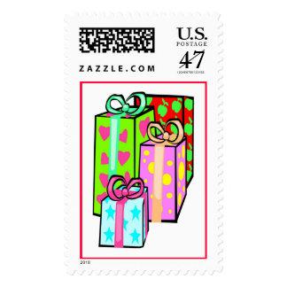 Lot's a Big Presents (2) Postage