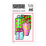 Lot's a Big Presents (2) Postage Stamps