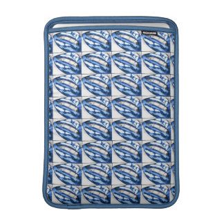 Lots-a-lips (Blue) Sleeve For MacBook Air