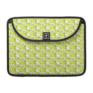 Lots-a-lips (Lime) MacBook Pro Sleeve