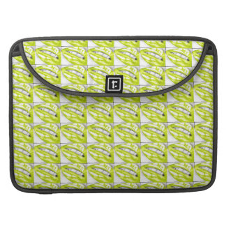 Lots-a-lips (Lime) Sleeve For MacBook Pro