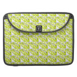 Lots-a-lips (Lime) Sleeves For MacBooks