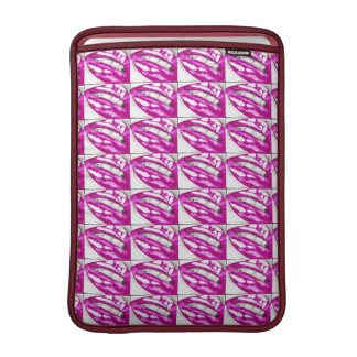 Lots-a-lips (Magenta) Sleeve For MacBook Air