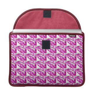 Lots-a-lips (Magenta) Sleeve For MacBooks