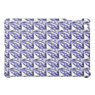Lots-a-Lips Violet iPad case (Hot Lips)