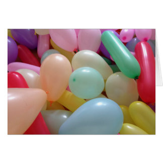 Lots and lots of Balloons: Happy Birthday Card