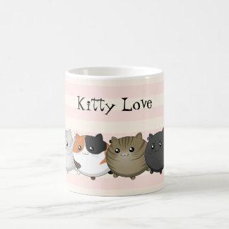 lots and lots of kawaii cats classic white coffee mug