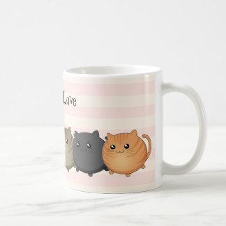 lots and lots of kawaii cats mugs