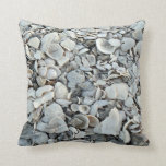 Lots And Lots Of Seashells Throw Pillow