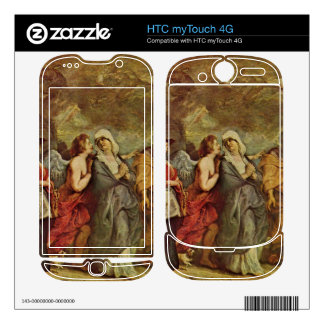 Lots escape by Paul Rubens Decal For HTC myTouch 4G