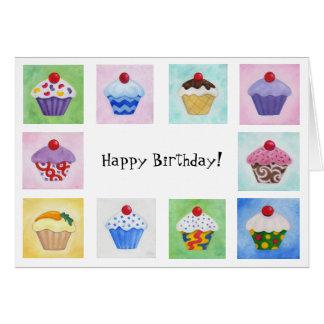 Lots O' Cupcakes birthday card