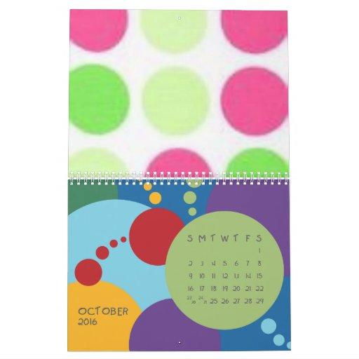 Lots O Dots Calendar` Calendar