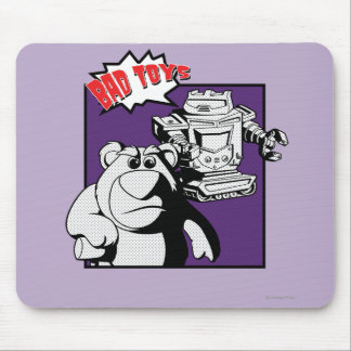 Lots O' Huggin' Bear & Sparks: Bad Toys Mouse Pad