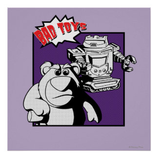 Lots-O'-Huggin' Bear & Sparks: Bad Toys Poster