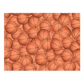 Lots of Basketballs Postcard