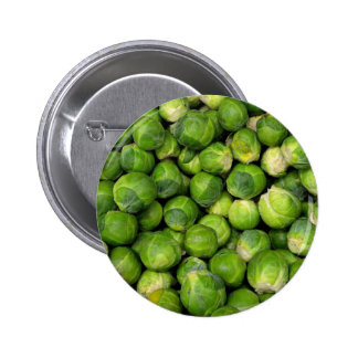 Lots of Brussels Sprouts Pinback Buttons