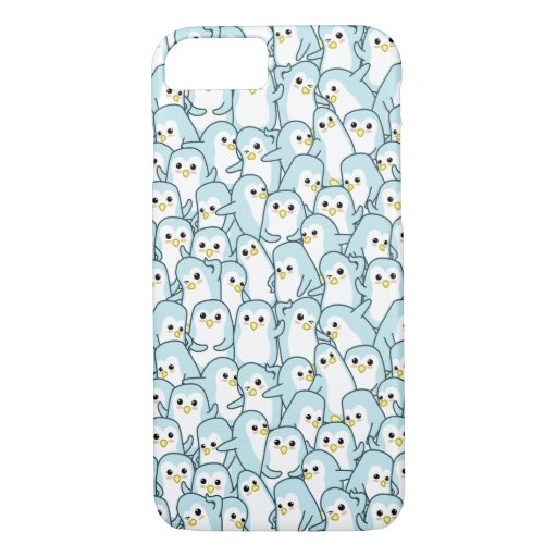 Lots of cartoon Penguins iPhone 8/7 Case