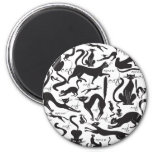 Lots of Cats 2 Inch Round Magnet