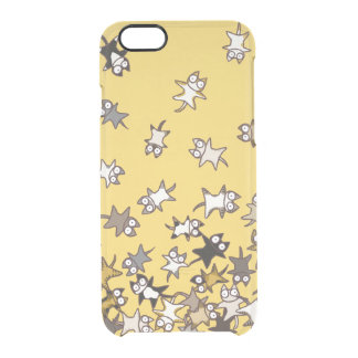 Lots of Cats Clear iPhone 6/6S Case